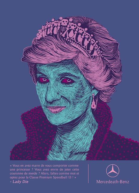 Gwen Tomahawk Illustration Lady Di