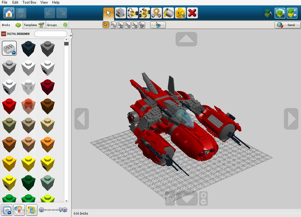 Lego digital designer 4 download freeware for Lego digital designer templates