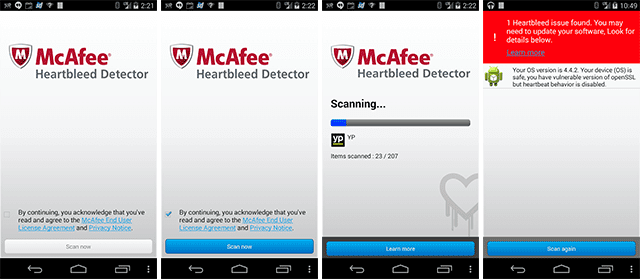 Download McAfee Heartbleed Detector untuk Android 1