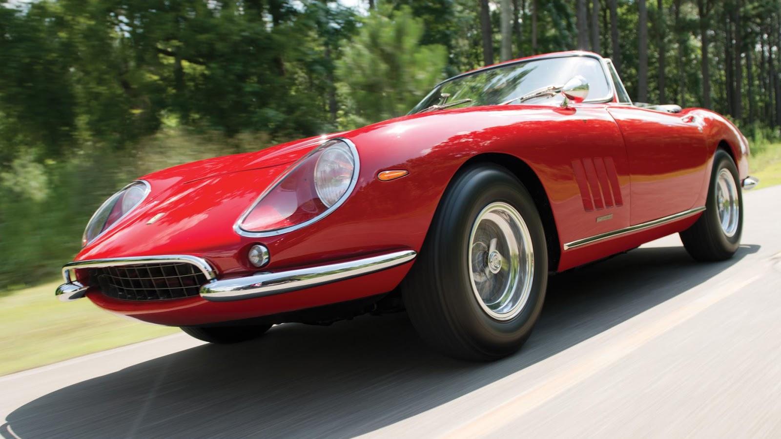 $27,500,000 – 1967 Ferrari 275 GTB/4S NART Spider