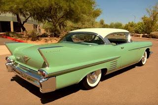 1958 Cadillac Coupe de Ville Rear Right