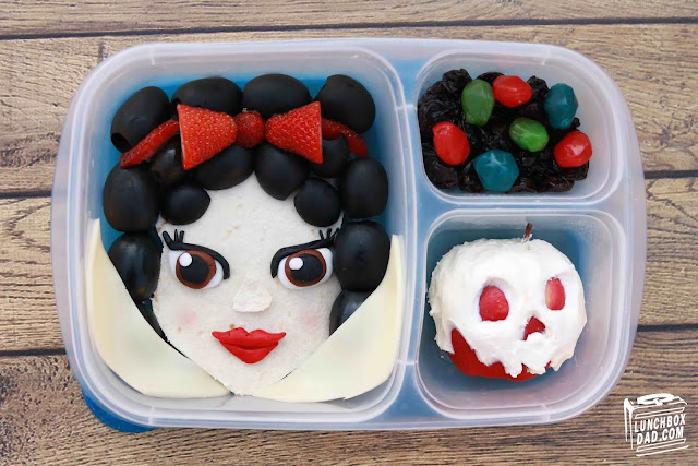 How to make a Disney Princess Snow White lunch for your kids