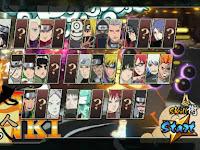 Naruto Senki MOD Ninja Senki Unlimited New Character Apk Game Android Terbaru