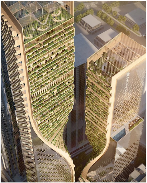 The Green Spine, the Highest Building in Australia That Successfully Defeat Q1