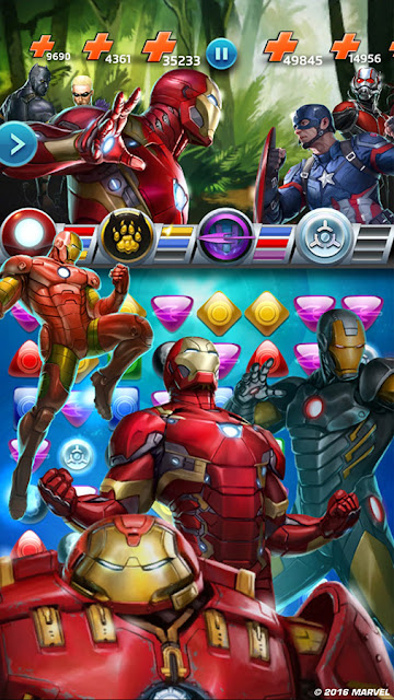 Marvel Puzzle Quest, Civil War Dalam Game Puzzel 2