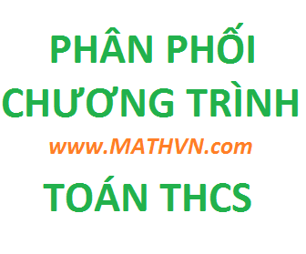phan phoi chuong trinh toan thcs theo giam tai, toan 6 7 8 9