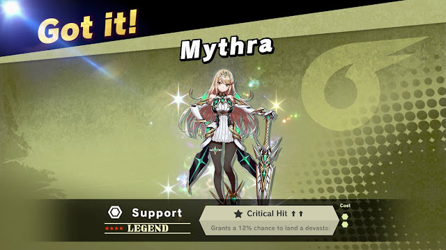 Super Smash Bros. Ultimate Mythra Spirit support legend censorship leggings critical hit
