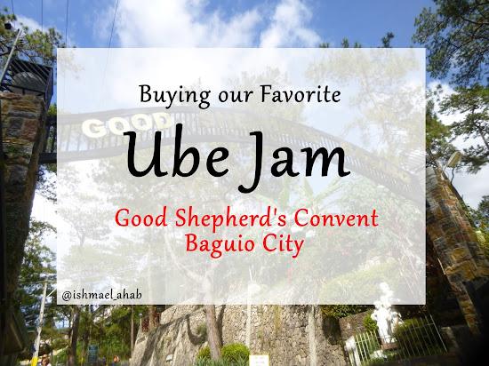 Buying Ube Jam in Good Shepherd Convent in Baguio