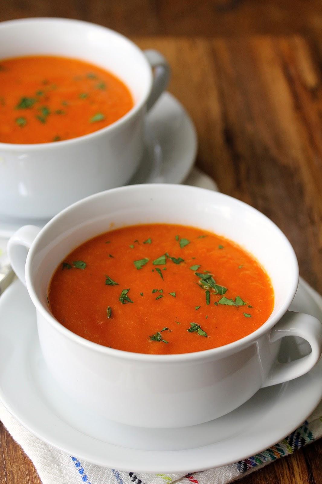 Simple Tomato Soup | Karen's Kitchen Stories