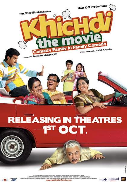 Poster of Khichdi The Movie 2010 720p Hindi BRRip Full Movie Download
