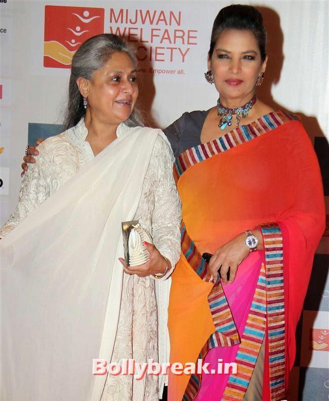 Jaya Bachchan and Shabana Azmi, Top Bollywood Celebs at Men For Mijwan Charity Fashion Show