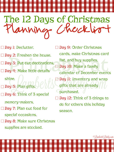 I love these ideas for planning an intentional Christmas!  Includes holiday printables and a task planning checklist.  All for free!