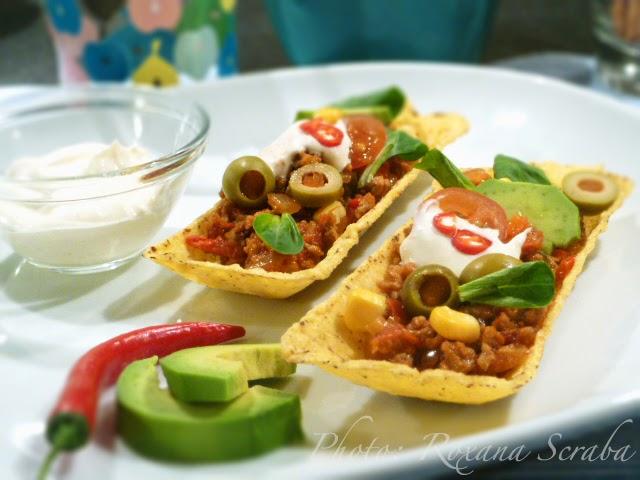Tacos in barcute de porumb