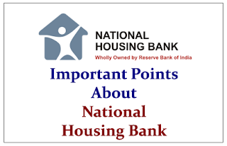 Important Points to Know about National Housing Bank