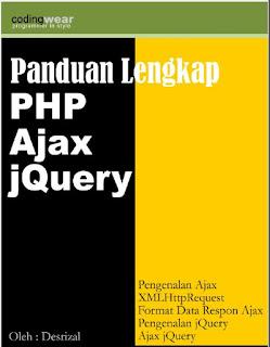 Ebook Panduan Lengkap PHP Ajax Jquery