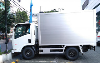 Isuzu NLR 55 T Box Aluminium