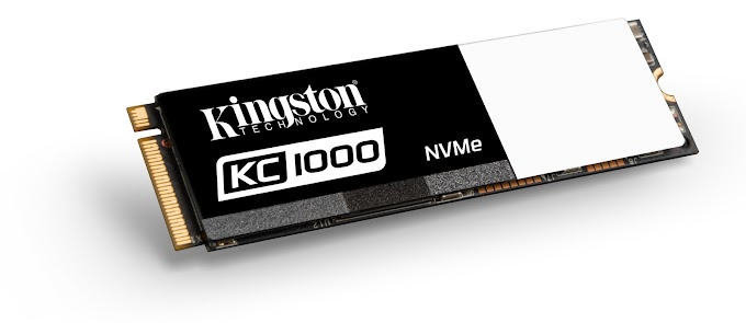 Kingston Unveils KC1000 NVMe PCIe SSD, Ready to Meet the Most Demanding Data Needs of SSD Enthusiasts