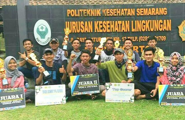 Kontingen Jurusan Kesehatan Lingkungan  Harumkan Nama Poltekkes Makassar Di Olimpiade KESLING Se-Indonesia
