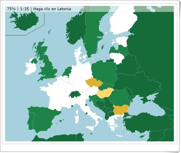 """""""Países de la Unión Europea"""" (Juego de Geografía)"""