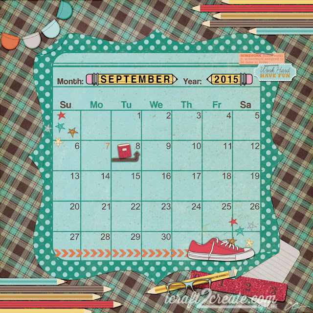 Back to School, September, Fall, Autumn, School, Fancy Pants, Photoshop, Digital, Scrapbooking