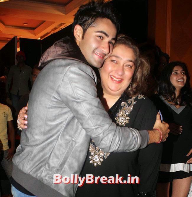 Armaan Jain and Ritu Nanda