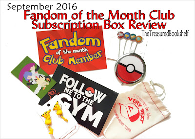 Enjoy 3-4 pieces of Fandom Jewelry each month with the Fandom of the Month Club Subscription Box.  This month has a fun Pokemon theme, and with a great sale going on, you can get the next three boxes at a great price! Check out all the fun now.