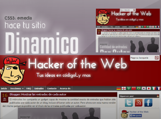CSS3: Media Queries, tu pagina web dinamica :: Hacker of the Web