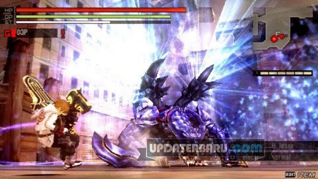 game God Eater Burst ISO CSO HighCompress PPSSPP Emulator Android