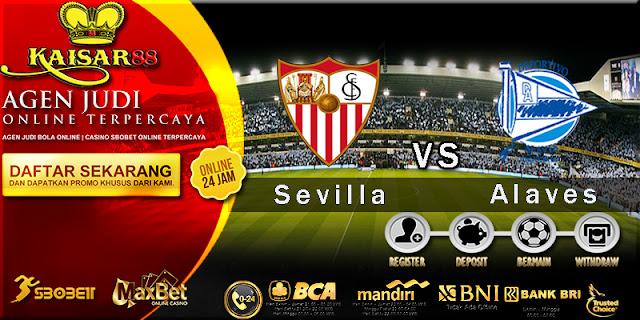 Prediksi Bola Jitu Sevilla vs Alaves 20 Mei 2018