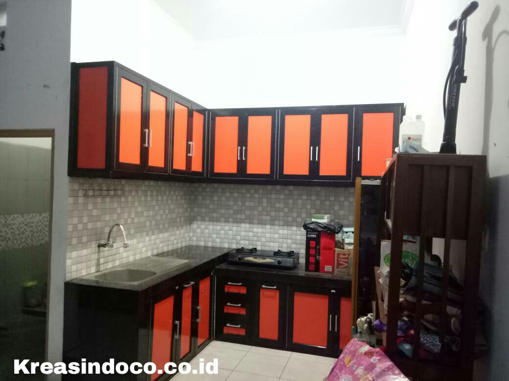 Kitchen set aluminium pemasangan di jalan pengadegan for Pemasangan kitchen set