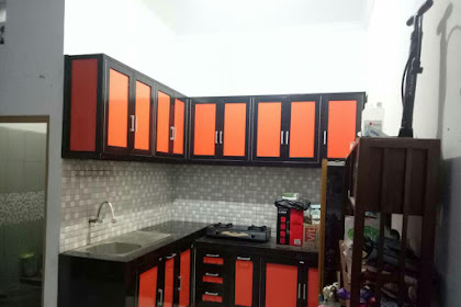 Kitchen Set Aluminium Pemasangan Di Jalan Pengadegan Pancoran Jakarta Selatan