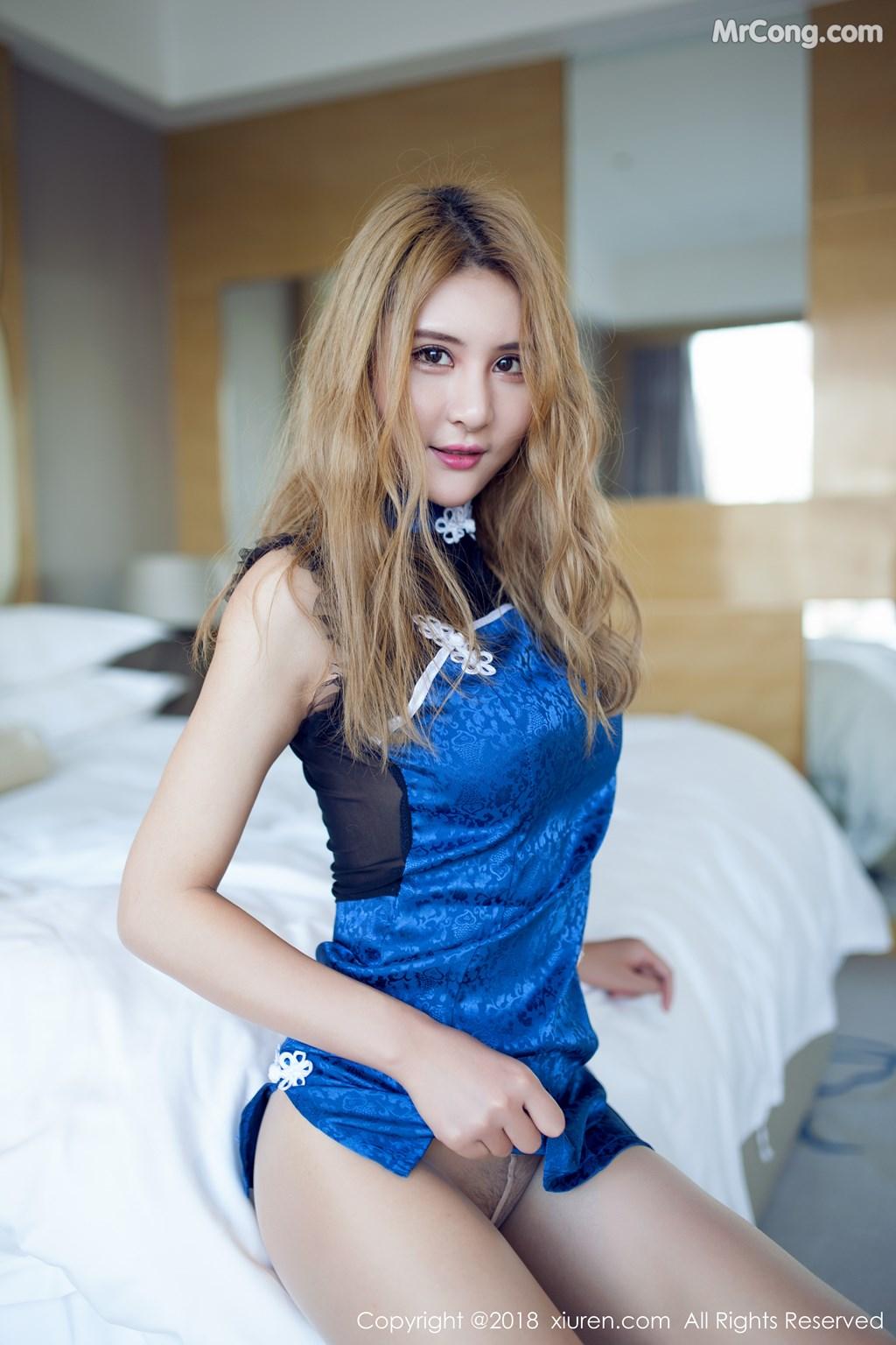 Image XIUREN-No.890-SOLO-MrCong.com-005 in post XIUREN No.890: Người mẫu SOLO-尹菲 (55 ảnh)