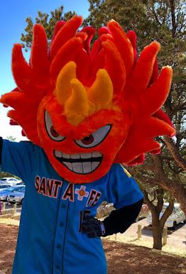 santa fe mascot fireball