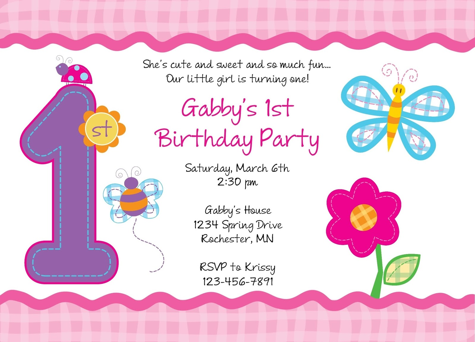 Email birthday party invitations