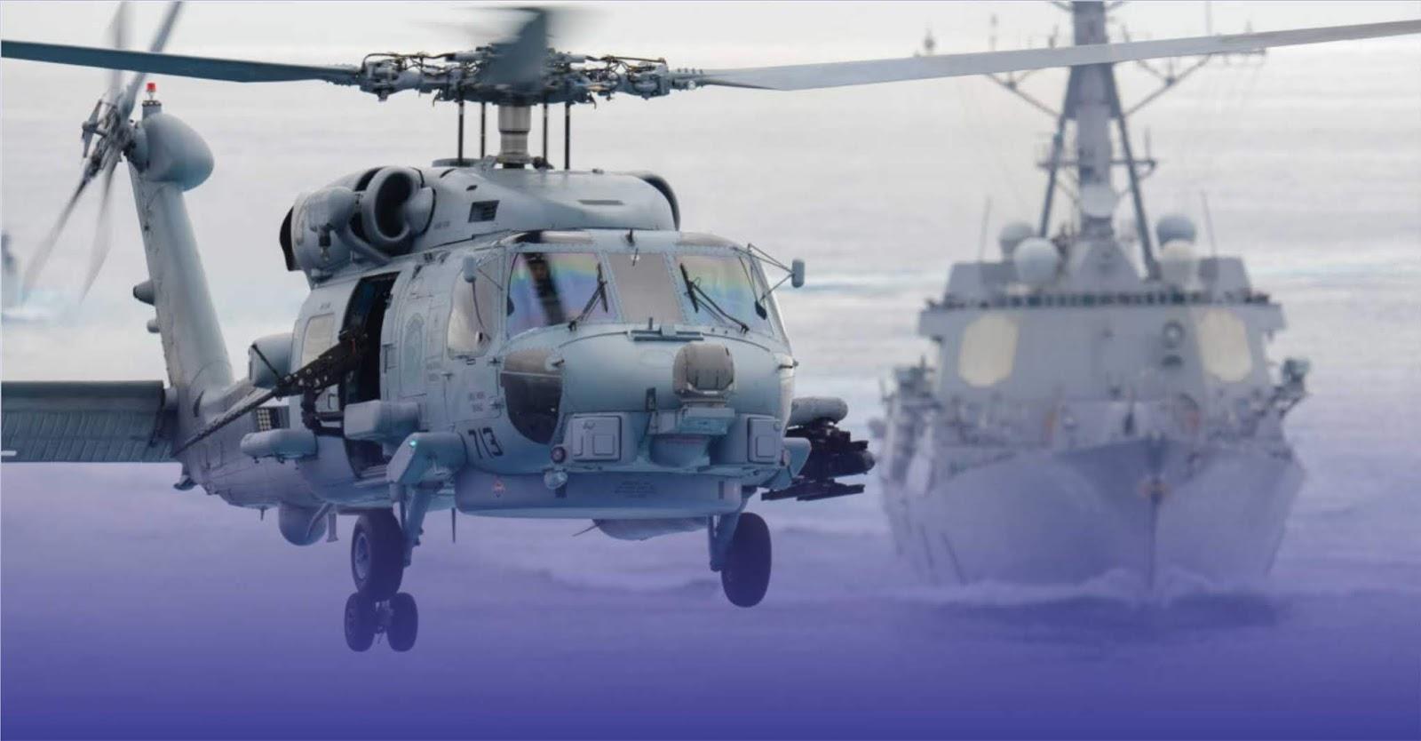 India mengirim permintaan ke Amerika Serikat untuk pembelian mendesak 24 helikopter MH-60R