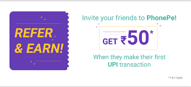 Phone Pe Refer And Earn