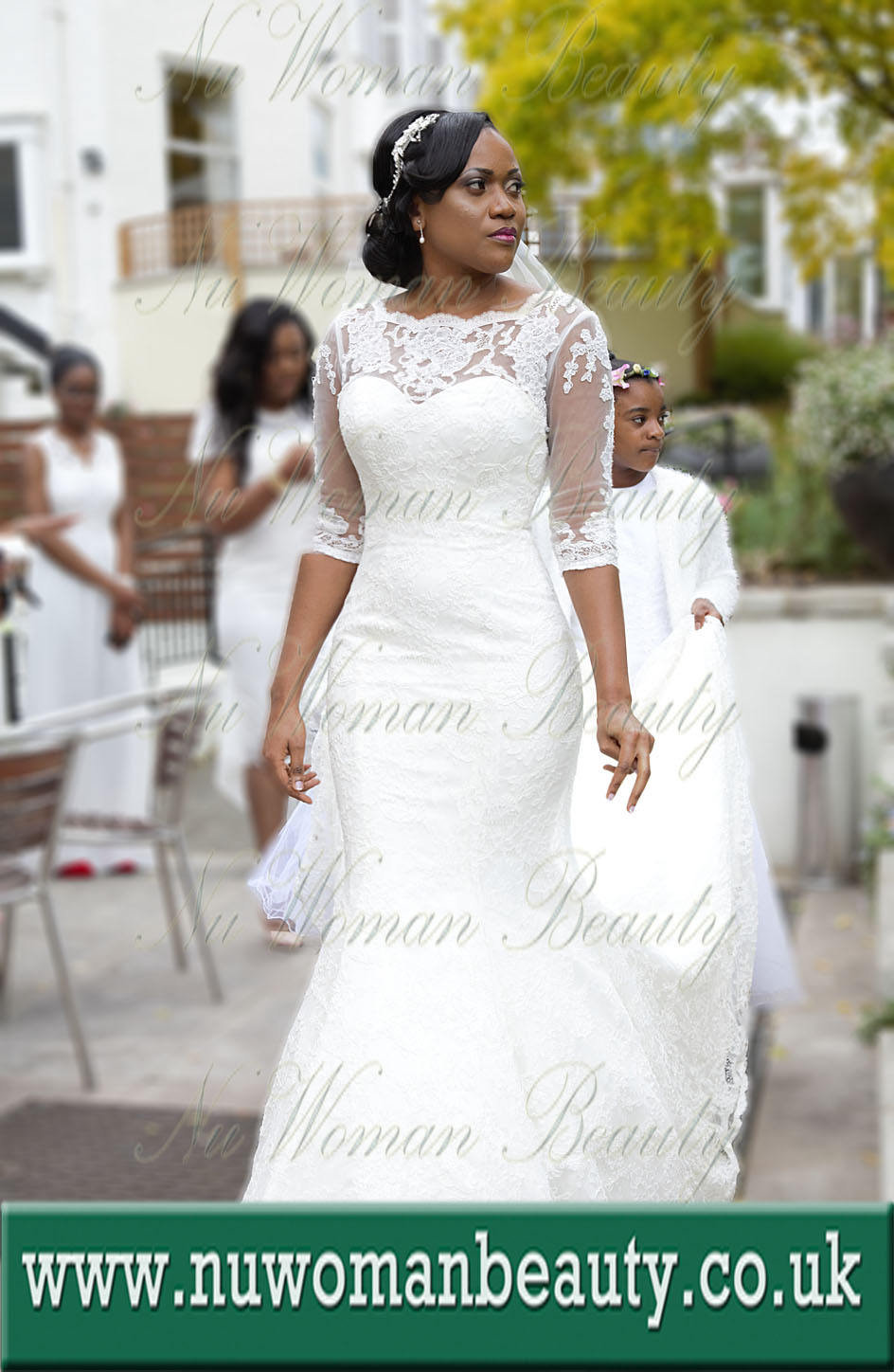 Mobile Bridal Afro Hair & Makeup Artist for Black Skin