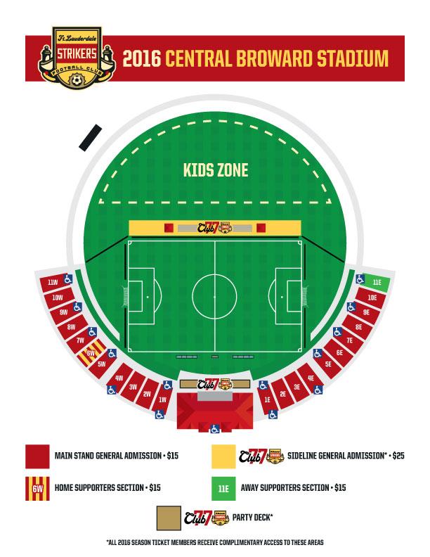 central broward stadium map