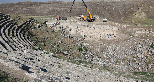 Restoration of Laodicea's Hellenistic theatre to be completed in 3 years