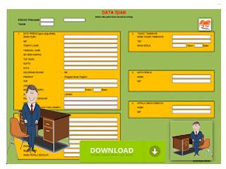 Aplikasi Penilain Kinerja Golongan Guru Format Excel