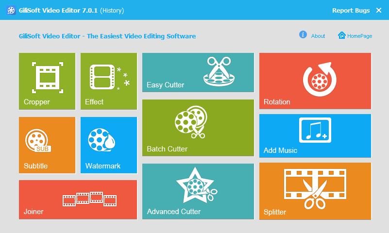 GiliSoft Video Editor 7.1.0 + Key