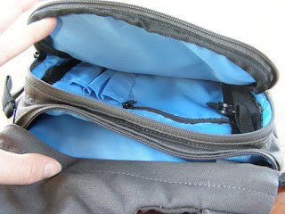 Kavu Sling Bag - Interior and Pockets