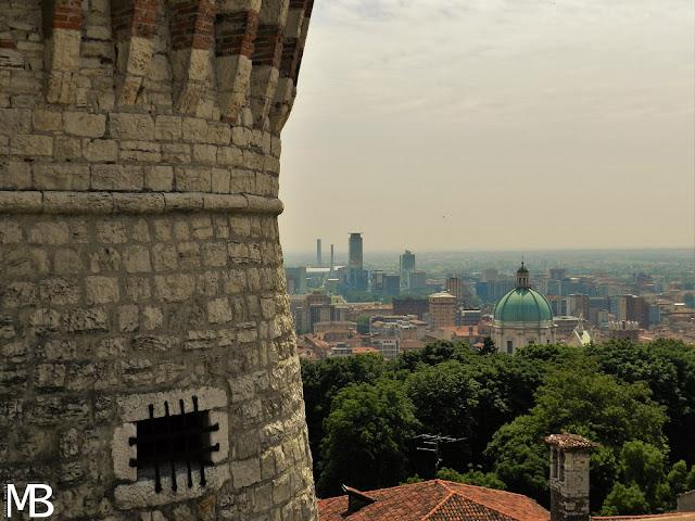 vista sulla città di Brescia