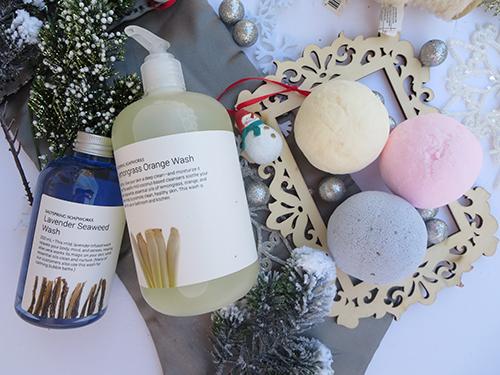 Saltspring Soapworks Lavender Bath Bomb Coconut Coco Butter Bath Bomb  Lemongrass Coconut Bath Bomb  Lavender Seaweed Wash (BubbleBath)  Lemon Grass Orange Wash (Handwash)