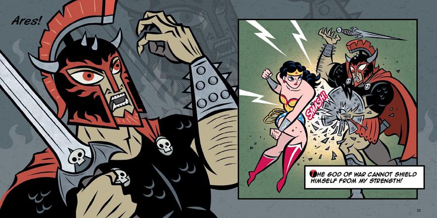 Wonder Woman: The Story of the Amazon Princess by Ralph Cosentino