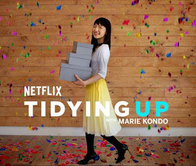 Marie Kondo Tidying up Show