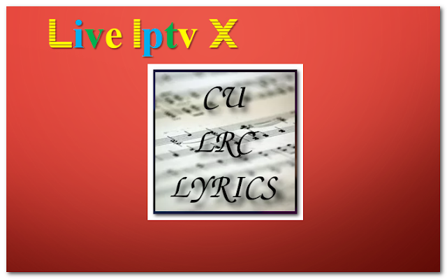 CU LRC Lyrics music addon
