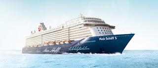 TUI Cruises christens Mein Schiff 5