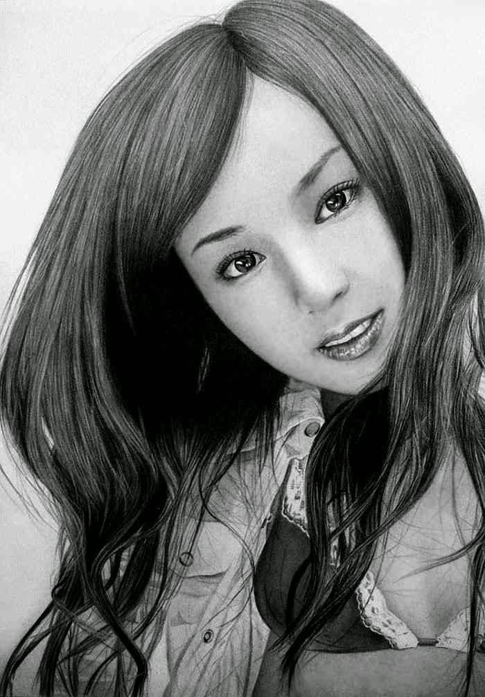 Рисунки карандашом. Ken Lee