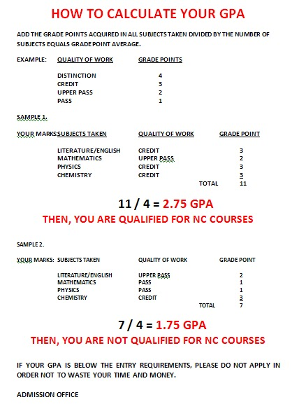 POMTECHTODAY: HOW TO CALCULATE YOUR GPA